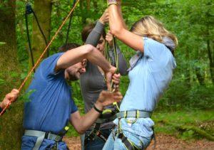 Seilbrückenbau | Outdoor | Experience | DEEPWOOD